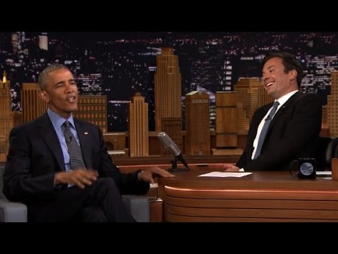 Obama jokes about Donald Trump with Fallon