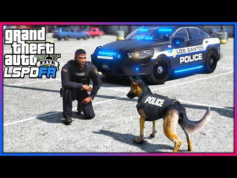 GTA 5 Mods - NEW K-9 Mod Released!! (LSPDFR Gameplay)