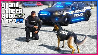 GTA 5 Mods - NEW K-9 Mod Released!! (LSPDFR Gameplay)