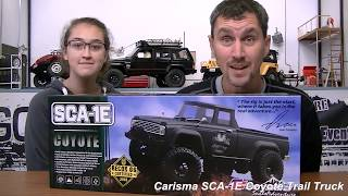 Carisma SCA-1E Coyote Trail Truck Reveal