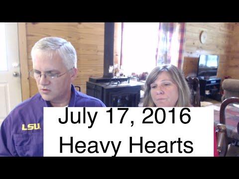 Hearts Heavy for Baton Rouge | Farm Talk | AldermanFarms LIVE 07-17-16
