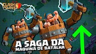 CASA DO CONSTRUTOR #19 - EM BUSCA DA MÁQUINA DE BATALHA NÍVEL 5 NO CLASH OF CLANS
