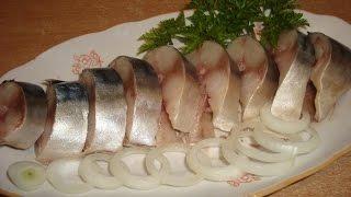 Скумбрия малосольная. Простой и вкусный рецепт соленой рыбы  в домашних условиях