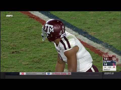 Texas A&M vs Ole Miss 2017 - no huddle