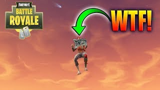 FORTNITE HACKER MADE EVERYBODY FLY IN THE SKY!