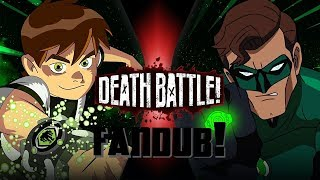 Ben 10 vs Green Lantern (Cartoon Network vs DC) | TOD-KAMPF Fandub