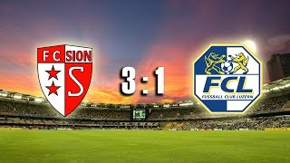 Fc Sion Vs. Fc Luzern 27.02.2016 - Abseits