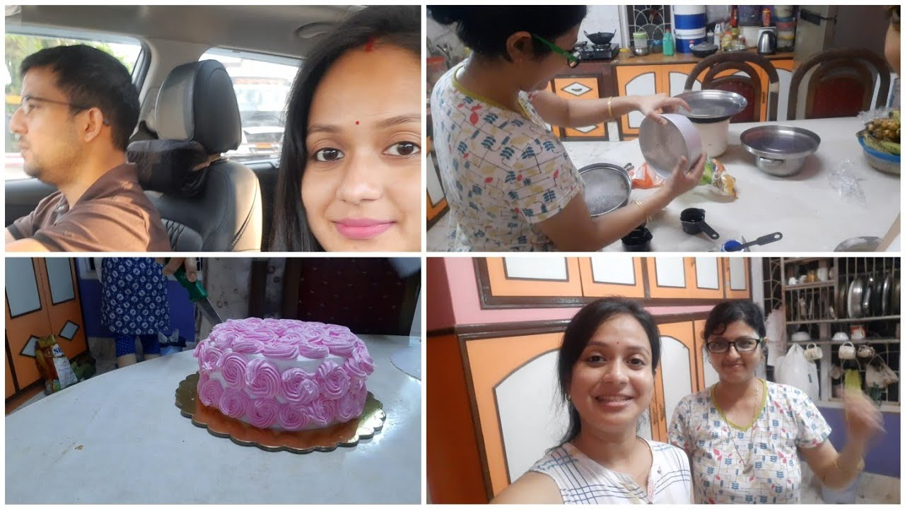 vlog  বৌ আৰু মই মিলি একেলগে icing কেক বনালো   মা লৈ আকৌ শাৰী সলাব লগা হল   chitrashree kitchen  