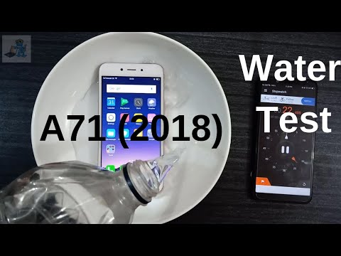 oppo A71(2018) water test    OPPO A71(2018) In Water then??    Android Corridor  
