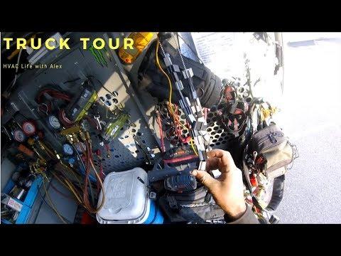 HVAC Life with Alex - Truck Tour