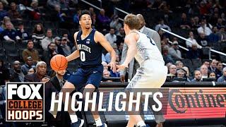 Myreon Jones sinks five triples in Penn State's win over Georgetown   FOX COLLEGE HOOPS HIGHLIGHTS