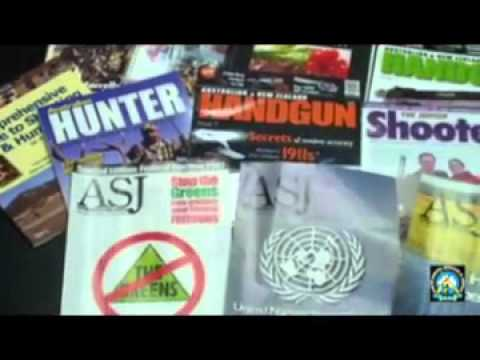 Explaining about the Sporting Shooters Association of Australia SSAA
