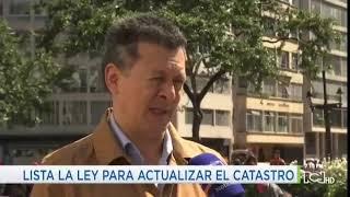 William Alfonso, profesor del programa Gestión y Desarrollo Urbanos.Lista la ley de catastro