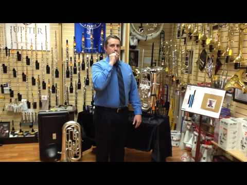 Euphonium:  Embouchure and First Sounds