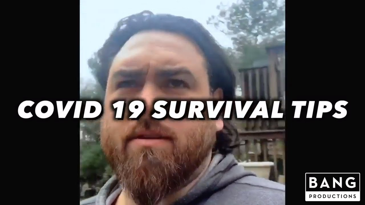 COMEDIAN GERARD HARAN: COVID 19 SURVIVAL TIPS - COMEDY FUNNY LAUGH