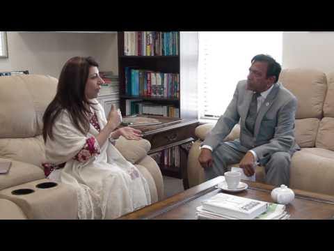 Manzoor Memon Interviews Consul General of Pakistan Aisha Farooqui