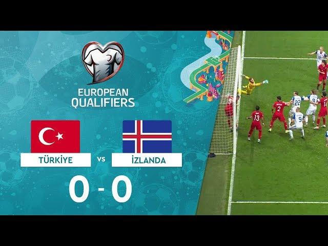 Türkiye 0-0 İzlanda | EURO 2020 Elemeleri Maç Özeti - H Grubu
