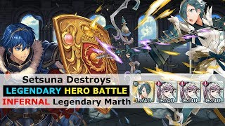 [FEH] Setsuna Destroys Legendary Marth LHB [INFERNAL Legendary Hero Battle]