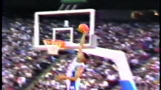 Grant Hill Flies in 1991 Title Game