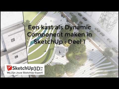 Dynamic Components Kast Sketchup