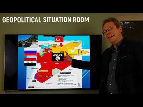 Geopolitical Situation Room: Turkey's invasion into Northern Syria (9 October 2019)