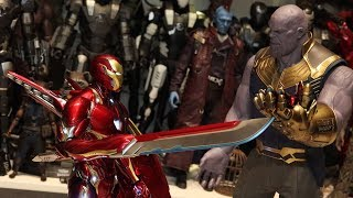 """[Unboxing] Hot Toys Avengers: Infinity War  """"Iron Man Mark 50"""" Accessories"""