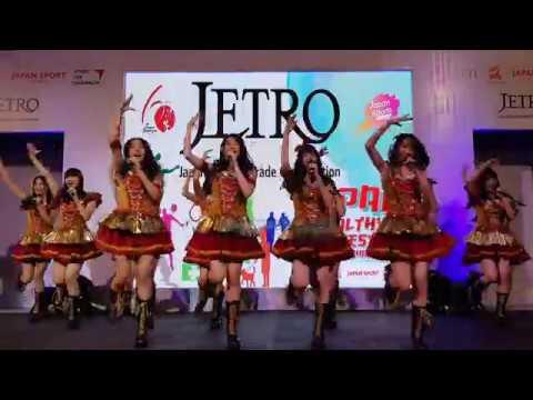 JKT48 - Part 1 @. JETRO Japan Healthy Lifestyle Exhibition