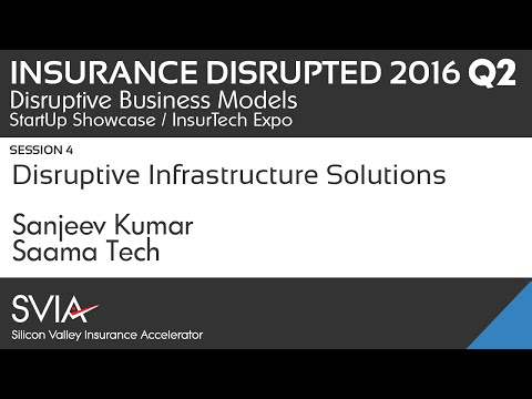 IDC Q2  2016  Sanjeev Kumar of Saama Tech S6  Disruptive Infrastructure Solutions