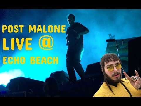 I TOUCHED POST MALONE   Post Malone Concert Vlog