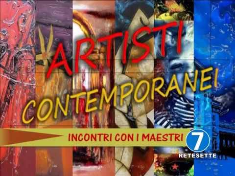 RETE 7  ARTISTI CONTEMPORANEI PT 1 CARLA GALLO