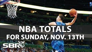 NBA Betting I Best O/U Odds for Sunday, November 13th