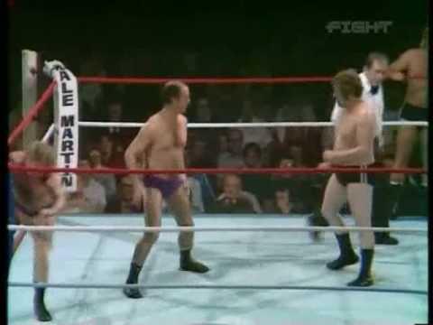 World Of Sport - Vic Faulkner & Bert Royal vs Peter Lapaque & Tommy Lorne pt.1