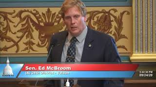 Sen. McBroom comments on election integrity and ballot counting