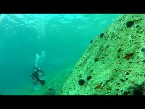 Scuba Dive on New Year's Eve @ Greece [Raw footage]
