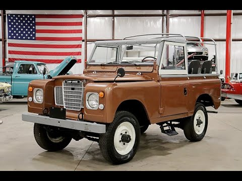 GR Auto Gallery: 1975 Land Rover Series III