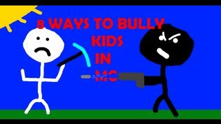 Repeat youtube video 8 Ways to Bully Kids in Minecraft (Part 3)