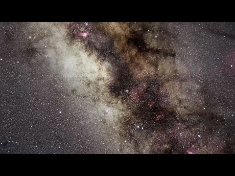 Picture of milky way galaxy hubble
