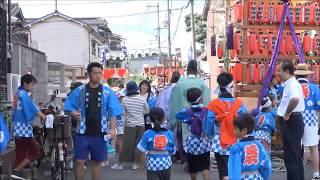 高崎神社(住之江・南加賀屋)夏越祭神事  宵宮 2017.7.22