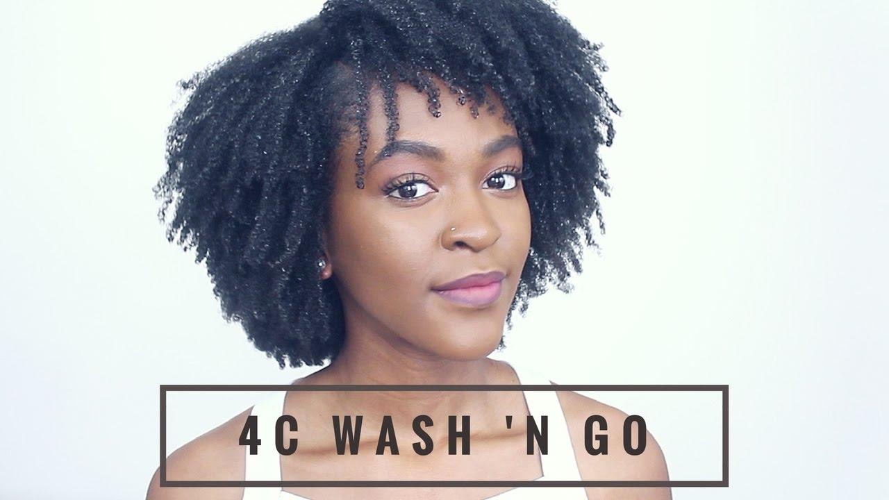 C Natural Hair Wash And Go