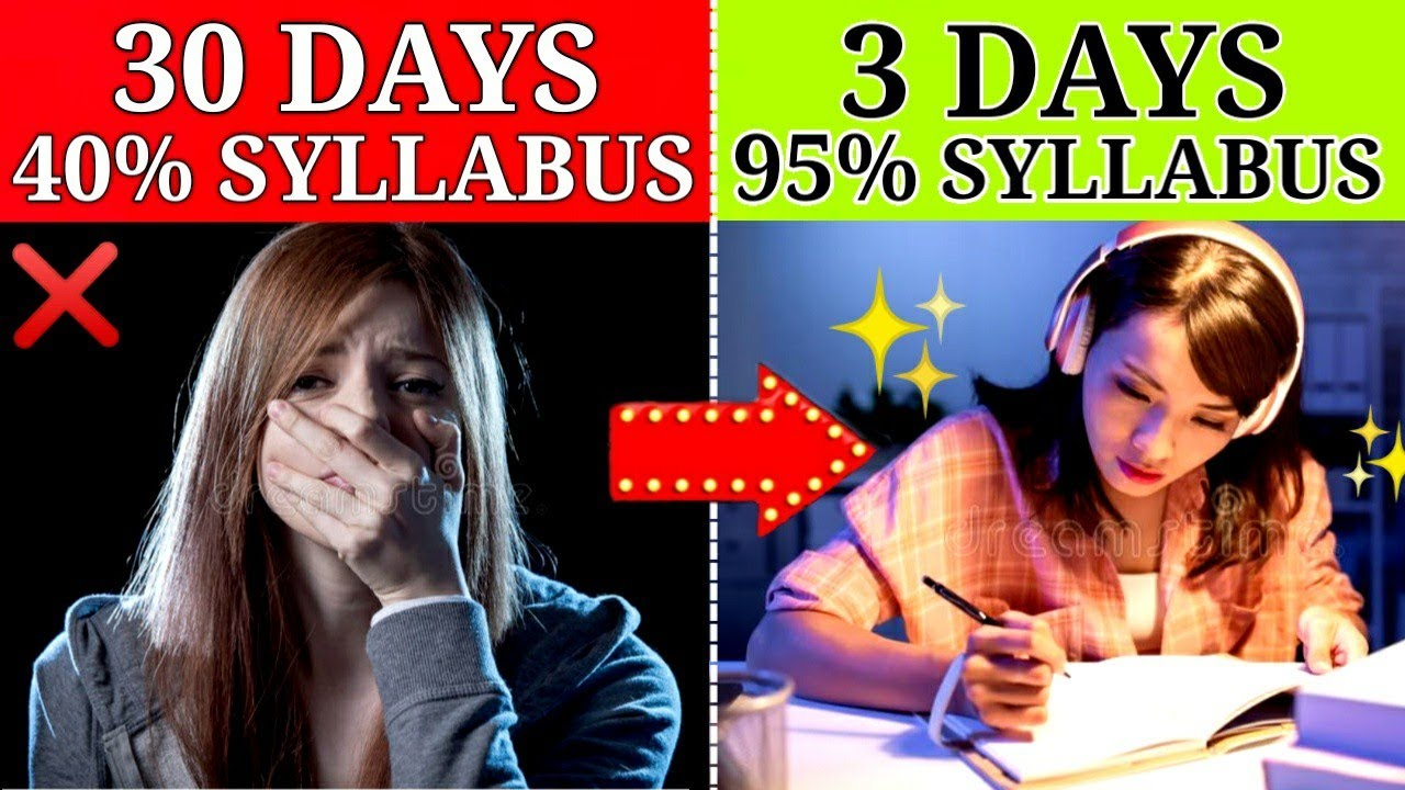 FASTEST WAY TO COVER THE SYLLABUS | 5 STUDY STRATEGIES | HOW TO STUDY IN EXAM TIME | MOTIVATION