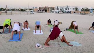 INSPIRIT YOGOVÝ POBYT - VIERKA AYISI ( DUBAI 2018 - INSPIRIT AGENCY)