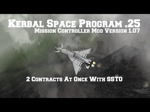 Mission Controller Mod Contracts Advanced Sat & Custom Crew Transfer
