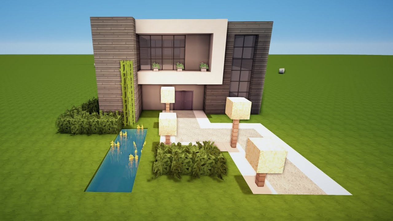 Minecraft modernes haus bauen tutorial haus 109 youtube for Minecraft modernes haus jannis gerzen