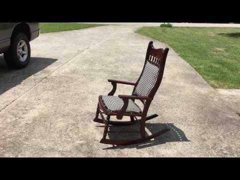 Restoration of Antique Rocking Chair