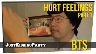 """Hurt Feelings"" Behind The Scenes - Part 1"
