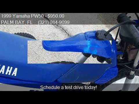 1999 Yamaha PW50 for sale in PALM BAY, FL 32905 at BAD BOYS