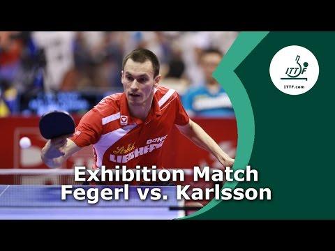 Funniest Table Tennis Show Match of 2016 - Stefan Fegerl vs. Kristian Karlsson