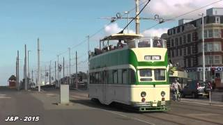 Blackpool Trams 130.Anniversary Event 26th September 2015