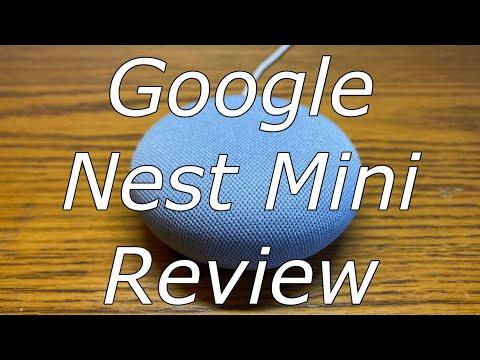 Google Nest Mini Review -- Better than the Home Mini!