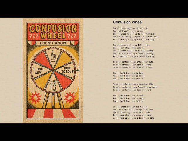 Tom Petty - Confusion Wheel (Official Lyric Video)
